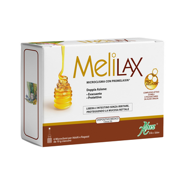 Melilax Micro-enema with Promelaxin 6x10gr