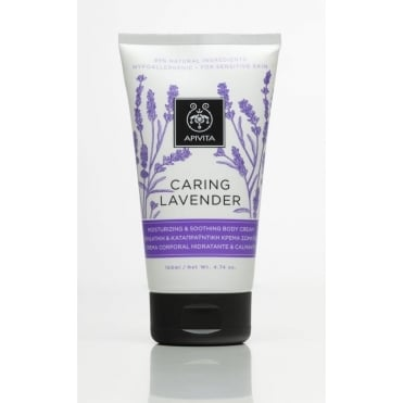 Caring Lavender Moisturizing & Soothing Body Cream 150ml