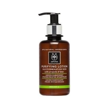 Cleansing Purifying Tonic Lotion for Oily/Combination Skin with Lime & Propolis 200ml