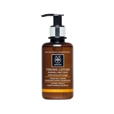 Cleansing Tonic Lotion for Normal/Dry Skin with Honey & Orange 200ml