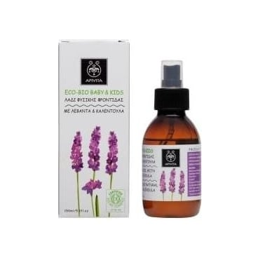 ECO - BIO BABY & KIDS Natural Caring Oil With Lavender & Calendula 150 ml