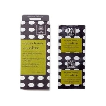 Express Beauty Intensive Exfoliating Cream with olive 2x8ml