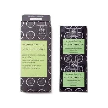 Express Beauty Intensive Hydration Mask with Cucumber 2x8ml