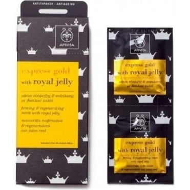 Express Gold Firming and Regenerating Mask With Royal Jelly 2x8ml