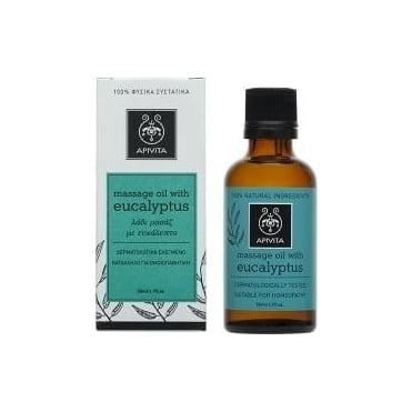 Massage Oil with Eucalyptus 50 ml