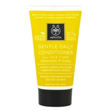 Mini Gentle Conditioner For All Hair Types With Chamomile & Honey 50ml