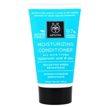 Mini Moisturizing Conditioner For All Hair Types With Hyaluronic Acid & Aloe 50ml