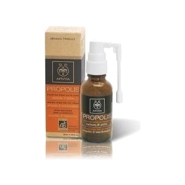 Organic Spray For The Throat With Marshmallow & Propolis 30 ml