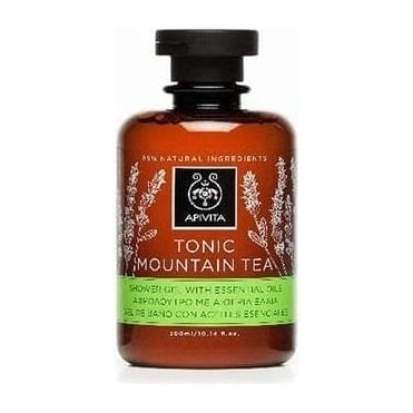 Tonic Mountain Tea Shower Gel with Essential Oils 300ml