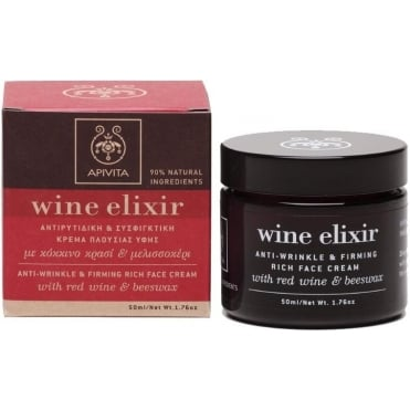 Wine Elixir Anti-Wrinkle & Firming Rich Texture Face Cream 50ml