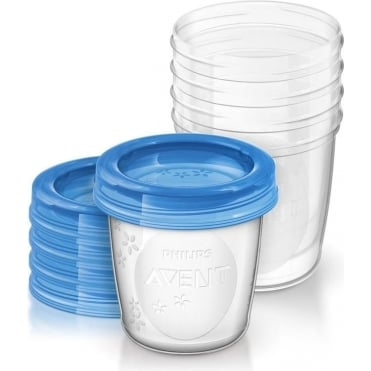 Breast Milk Storage Cups 10pcs