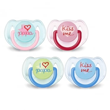 Classic Soother 6-18 months SCF172/72 2pcs