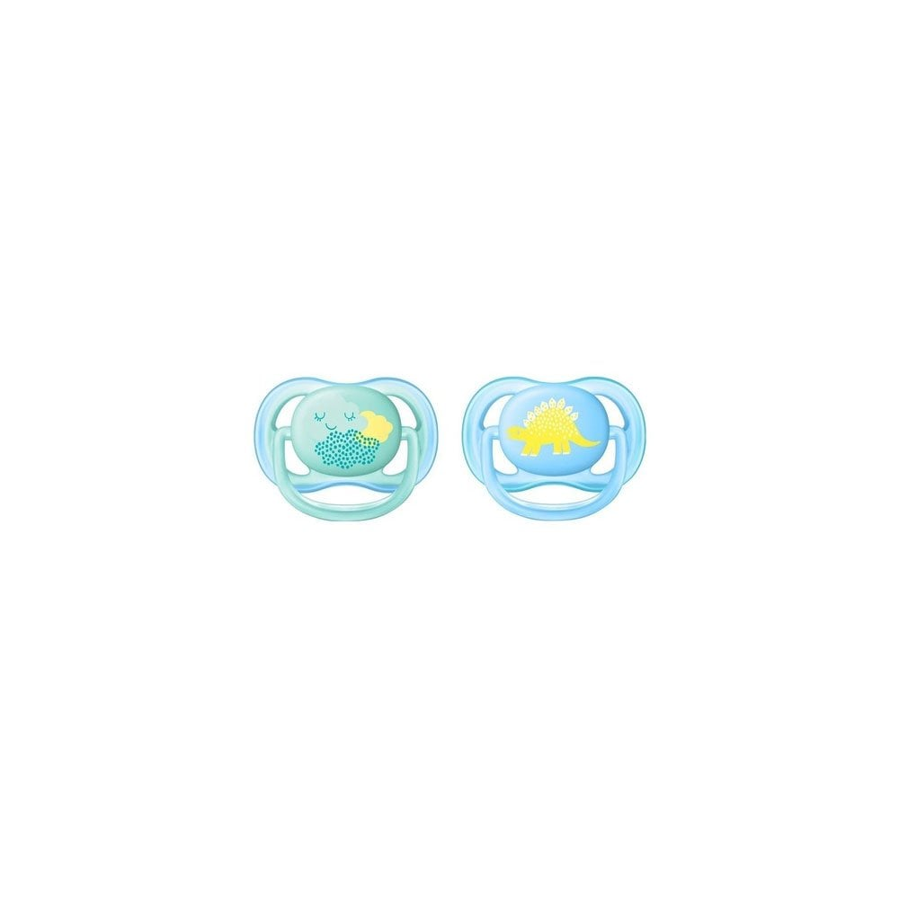 4d43c1a61b72 Avent Ultra Air Orthodontic Silicone Soother Boy SCF344 20 0-6m 2pcs ...