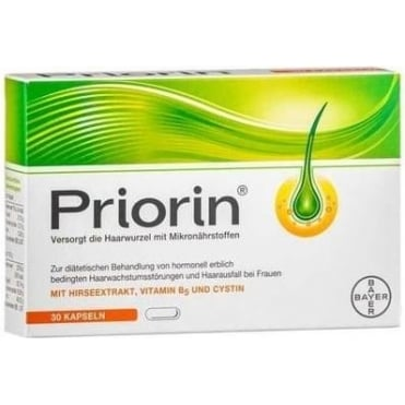 priorin extra food supplement against hair loss 30 caps