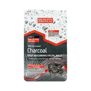 Activated Charcoal Deep Absorbing Facial Mask Dualstep 3gr & 10gr