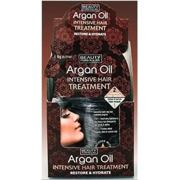 Argan Oil Intensive Hair Treatment 6gr+18gr