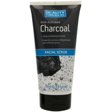 Charcoal Facial Scrub 150ml