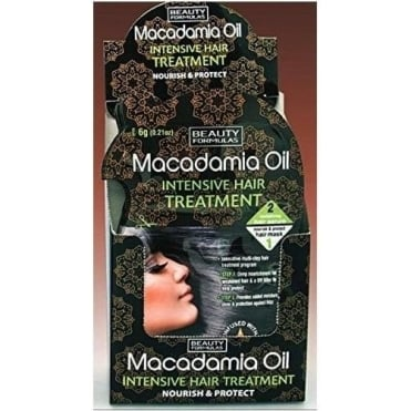 Macadamia Oil Intensive Hair Treatment 6gr+18gr