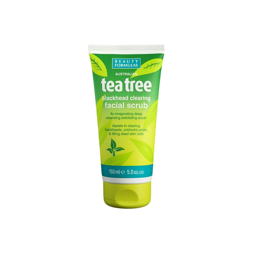 Tea Tree Blackhead Clearing Facial Scrub 150ml