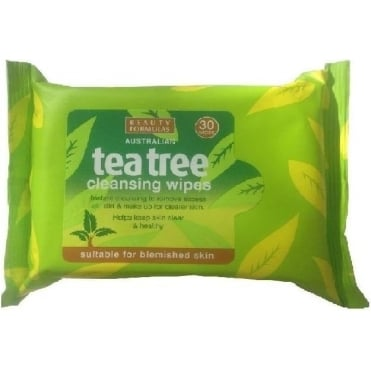 Tea Tree Cleansing Wipes 30pcs