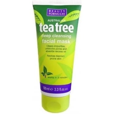Tea Tree Deep Cleansing Facial Mask 100ml