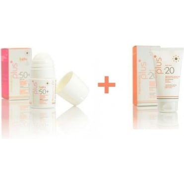 Panthenol Hellas Baby Sun Care Set
