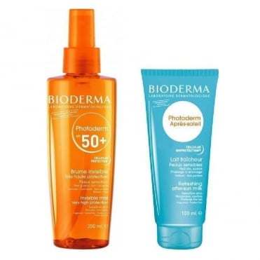 Photoderm Invisible Mist SPF50+ 200ml & FREE After Sun Milk 100ml