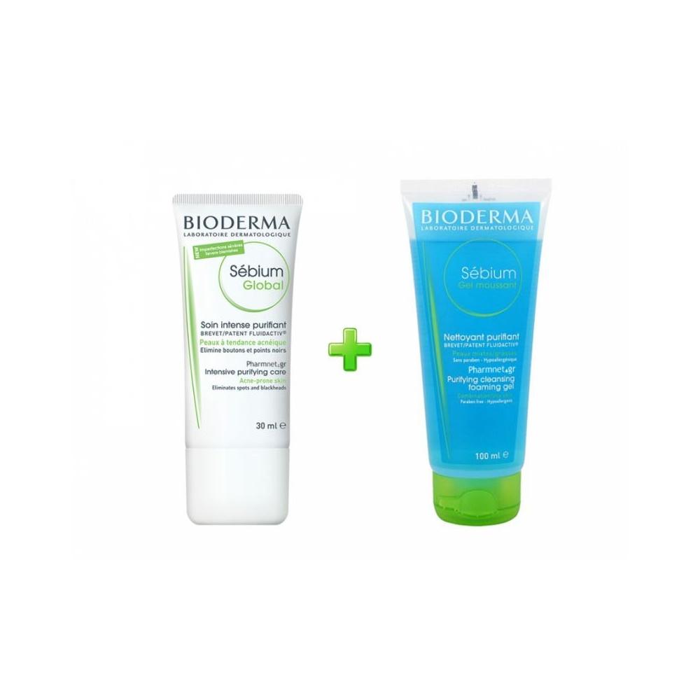 Bioderma Sebium Global Intensive Puryfuing Cream 30ml