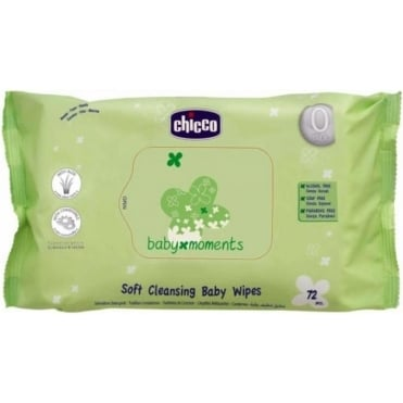 Baby Moments Soft Cleansing Wipes 16-72pcs