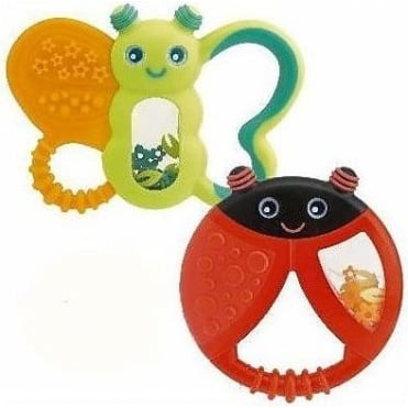 Funny Relax Teething Ring 6m+