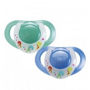 Physio 4m+ Silicone Soother Boy 2pcs
