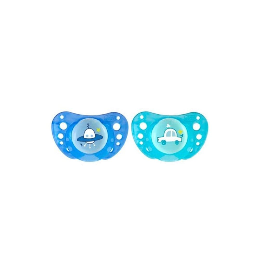 Soother Physio Air Silicone Blue 16-36m+ 2pcs
