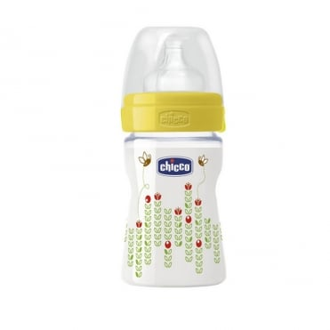 Well Being Plastic Bottle with Silicone Teat 150ml