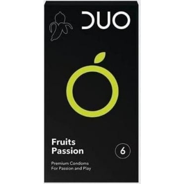 Premium Fruits Passion Condoms 6pcs