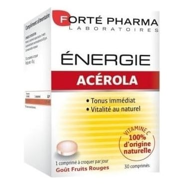 Energy Acerola Chewable 60tbs