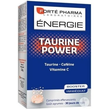 Energy Taurine Power 30eff tbs