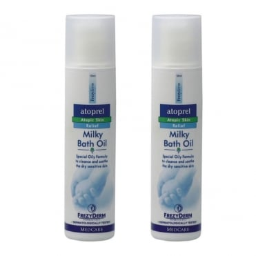 Atoprel Milky Bath Oil 125ml & 1 FREE