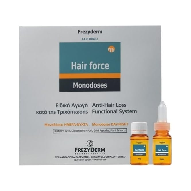 Frezyderm Hair Force Monodoses Day/Night 14x10ml