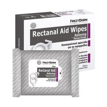 Rectanal Aid Wipes 20pcs