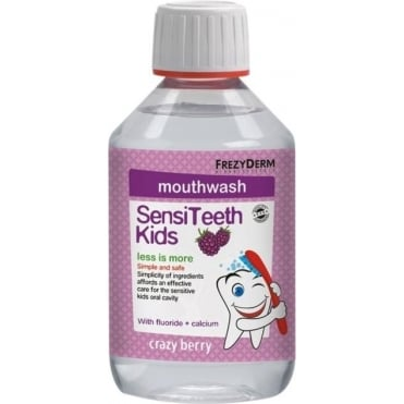 Sensiteeth Kid's Mouthwash with Calcium 250ml
