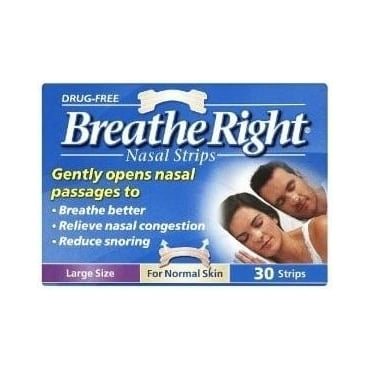 Breath Right Strips 30pcs