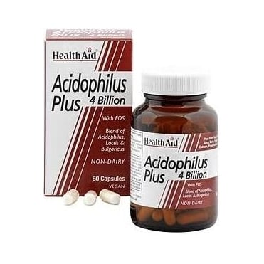 Acidophilus Plus (4 Billion) 60vegcaps