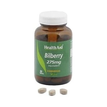 Bilberry Berry Extract 210mg 30tbs