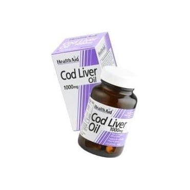 Cod Liver Oil 1000mg 30caps