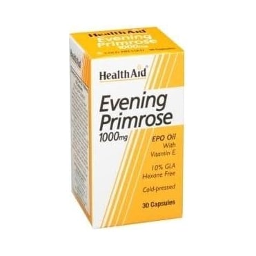 Evening Primrose Oil 1000mg & Vitamin E 30caps