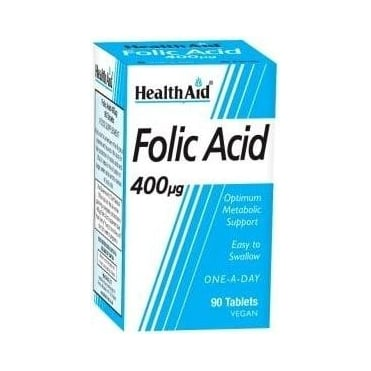Folic Acid 400μg 90tabs