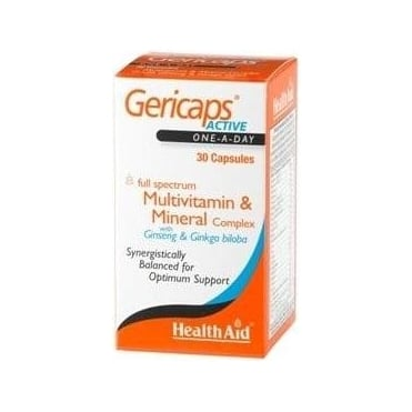 Gericaps Active Multivit 30caps