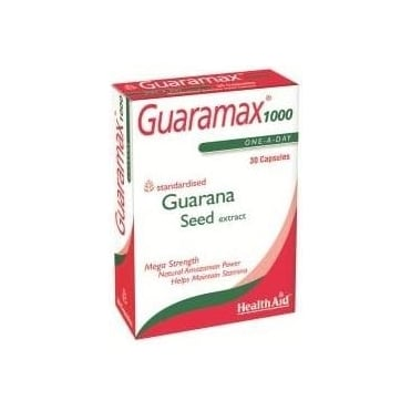 Guaramax Guarana 1000mg 30caps