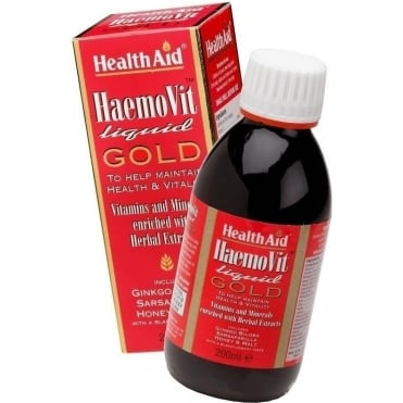 Haemovit Liquid Gold Tonic 200ml