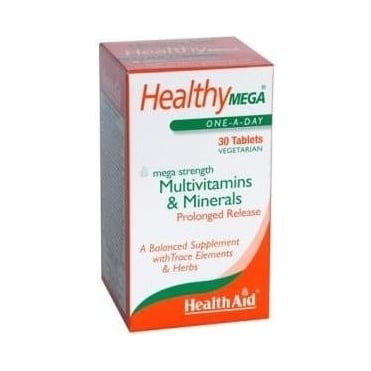 Healthy Mega Multivitamins & Minerals Prolonged Release 30tabs